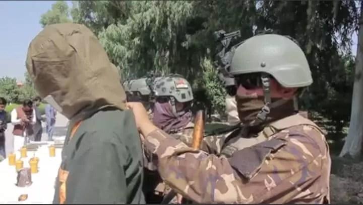 بازداشت یک تن در پیوند به باج گیری به نام داعش در ولایت ننکگرهار از سوی ریاست امنیت ملی