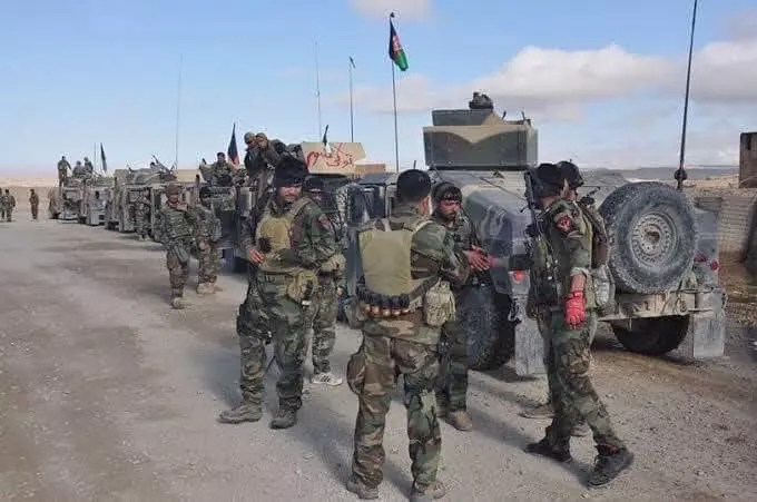 Clearing Dasht-e-Archi district of Kunduz province from terrorists