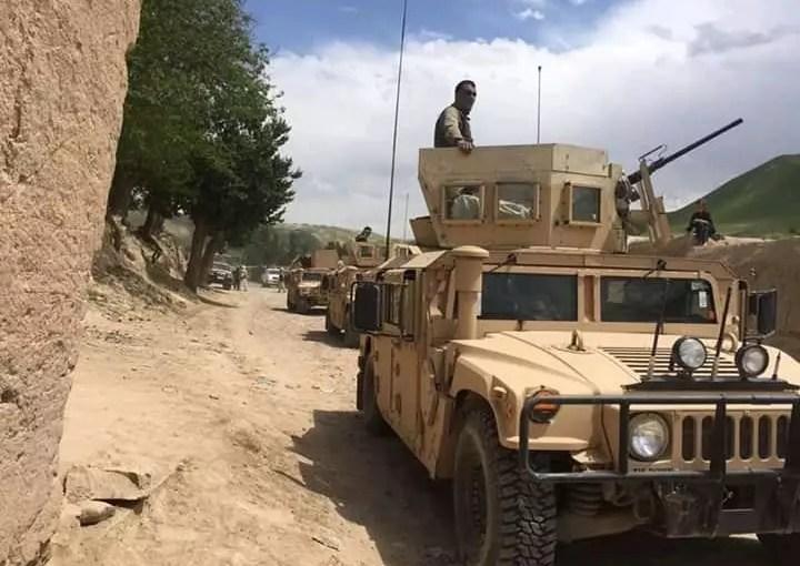 پاکسازی سه روستا از وجود طالبان در میدان وردک