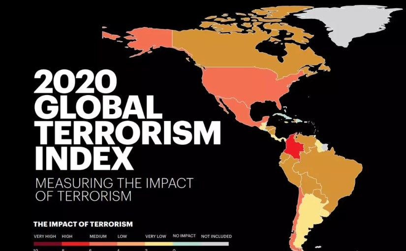 Afghanistan is the most affected country in terms of international terrorism