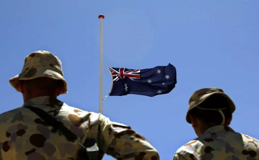 Suicide of Australian soldiers after the spread of their war crimes in Afghanistan