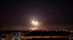 Israeli airstrikes on Syrian soil