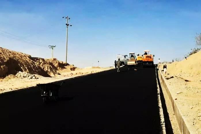 Reconstruction of internal roads in Taloqan city