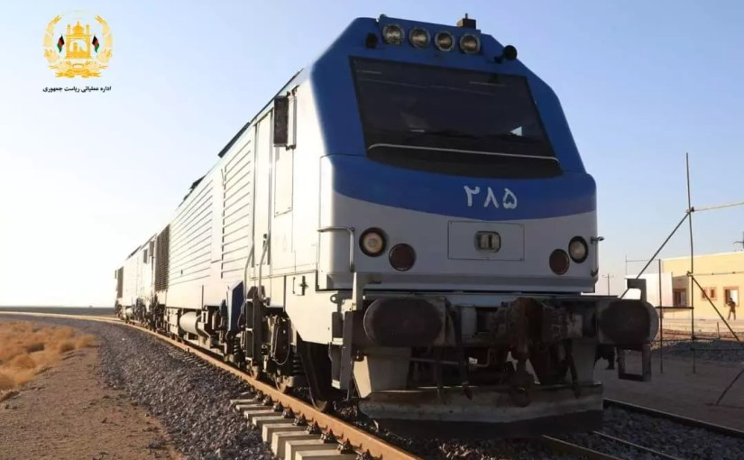 Opening of Afghanistan's first railway