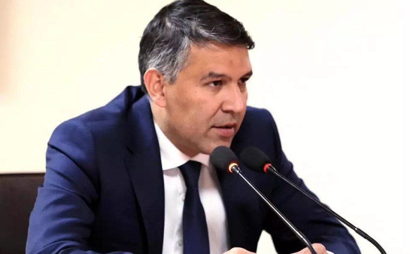 Mohammad Massoud Andarabi, Minister of Interior of Afghanistan
