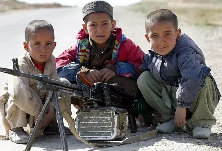 The use of children in terrorist attacks by the Taliban