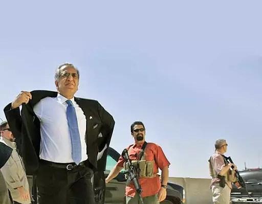 Zalmai Khalilzad, US Special Envoy for the Peace of Afghanistan