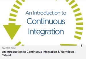 Un bel article d introduction à l intégration continue...