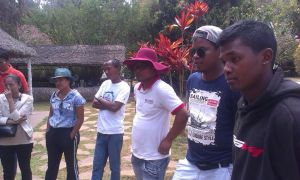 Sortie pole CMS à Ampasibe