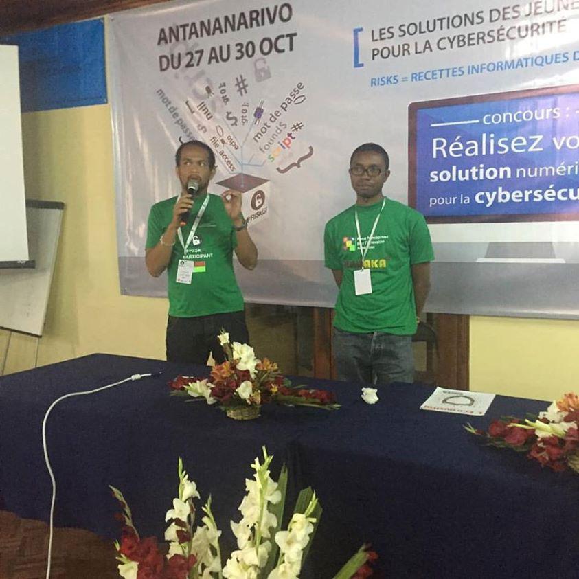 3eme prix du hackathon #RISK[S]