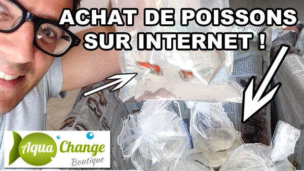 avis sur la boutique aquachange.fr avec mon unboxing en live !