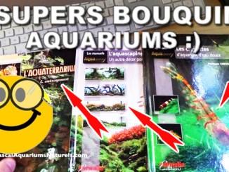3 supers livres d'aquariums !