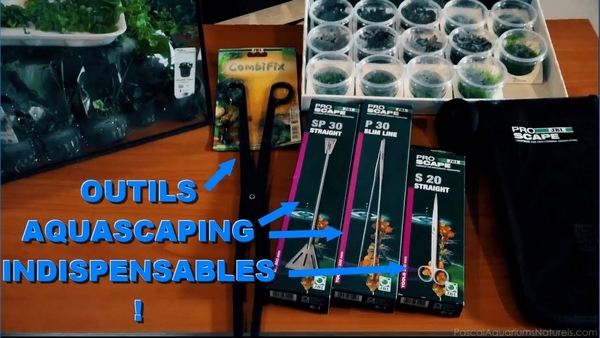 outils aquascaping