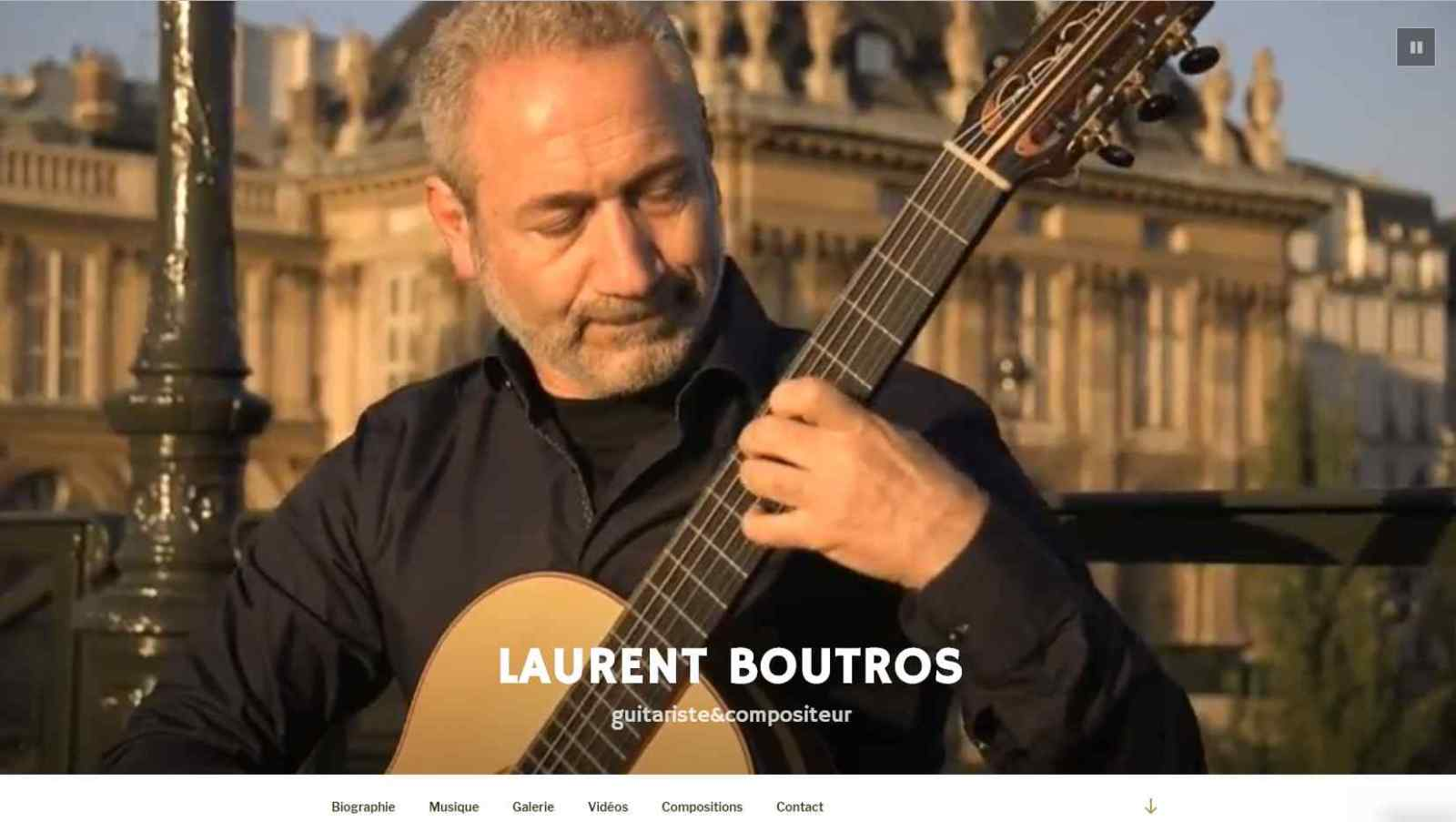 Site web de Laurent Boutros