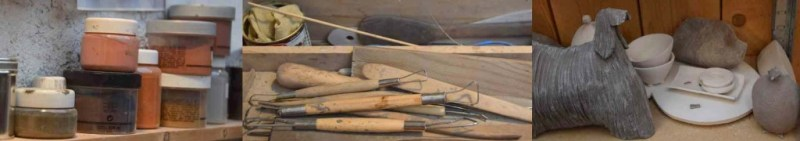 Pascale Benéteau's tools