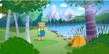 CBC Wonderworld - Background for Web Based Game