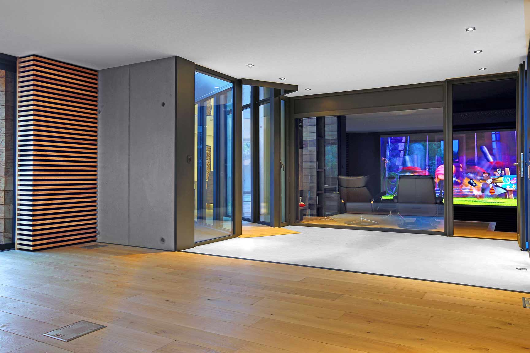 extension villa saint maximin interieur cinema