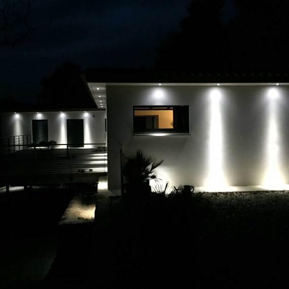 villa rougier eclairage de nuit