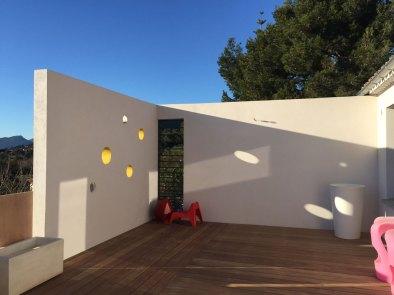 terrasse moderne bois