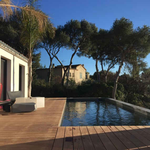 piscine terrasse contemporain