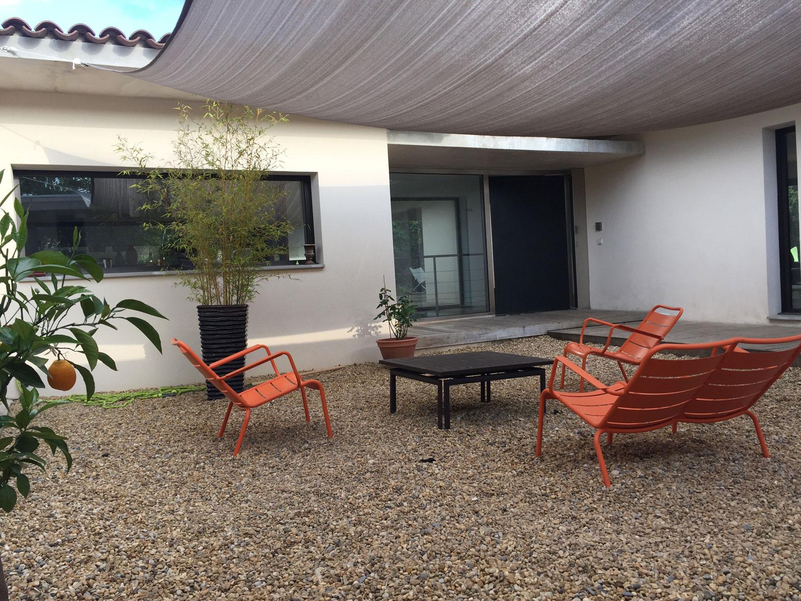 Villa saint maximin patio