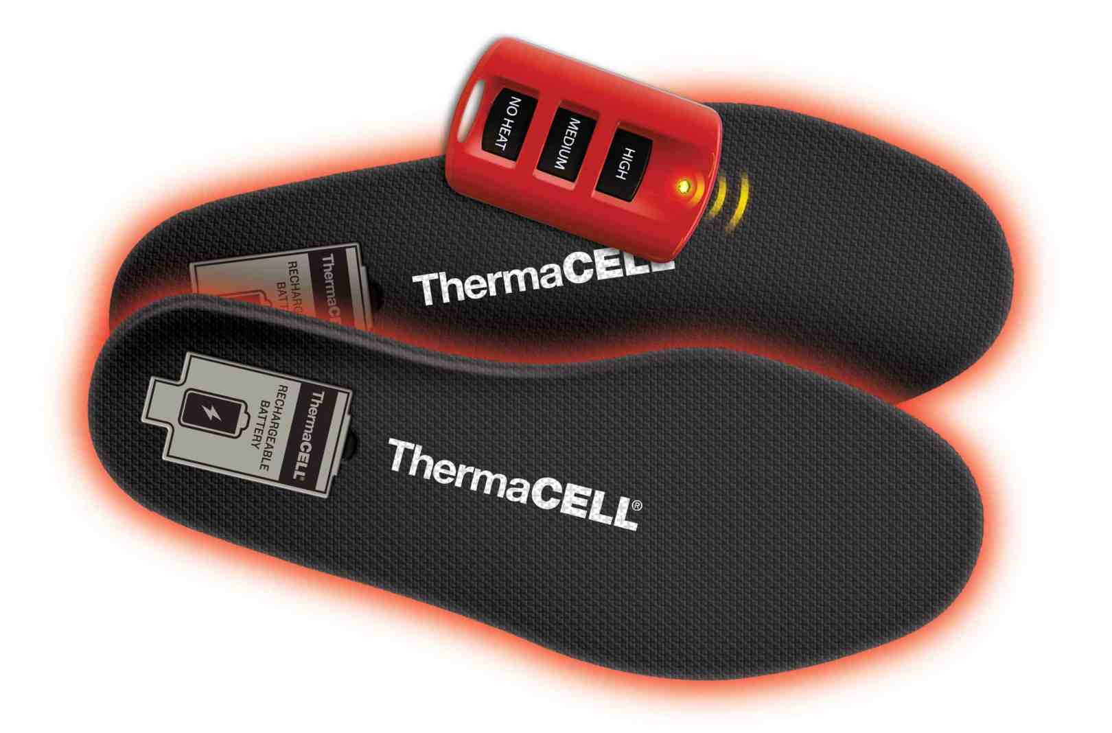 semelles rechargeables ThermaCELL