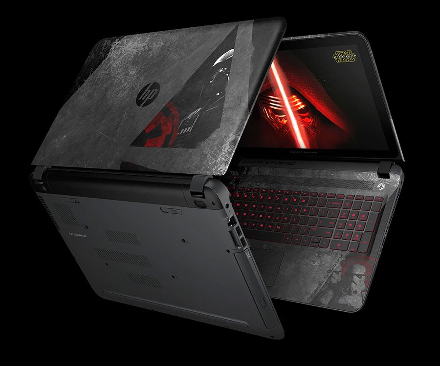 Star Wars ordinateur portable laptop HP pavilion