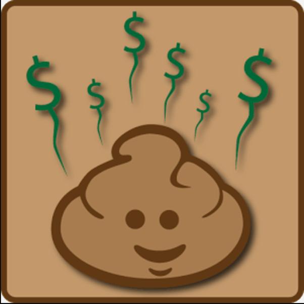 Application poop salary temps passé aux toilettes