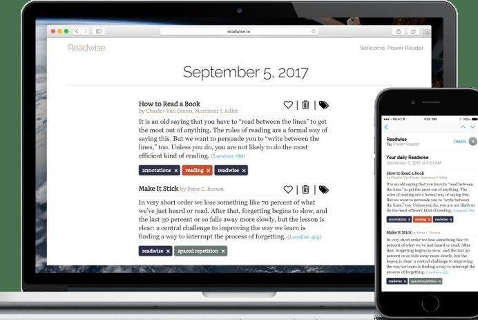 screenshot readwise extension chrome