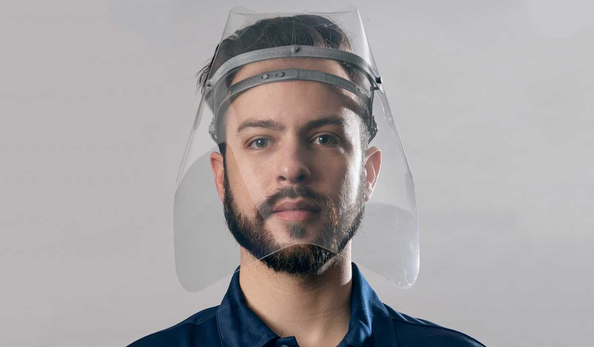 masques visières imprimés 3D HP Canada