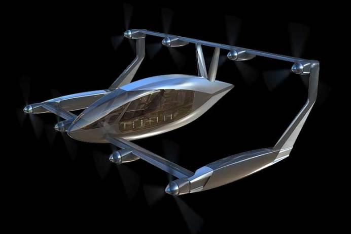 Vertiia ambulance volante VTOL AMSL Aero