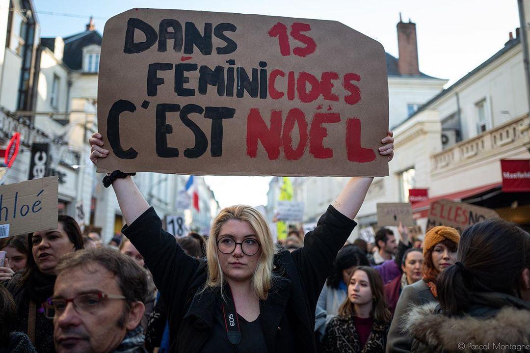 Feminist demonstration #demonstration  #feminism #metoo #women #violence #feminist #instagood #instalike