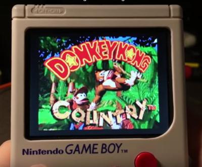 game boy raspberry pi-donkey kong country