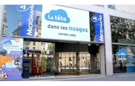 Les salles d'arcades SEGA en France, la tête dans les nuages