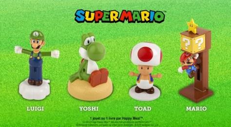Jouets Mario Mac Donalds