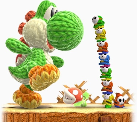 Poochy And Yoshis Woolly World : YoshiMega