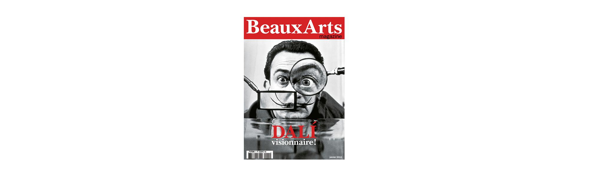 Infographiste Rouen Pascal Ridel Magazine beaux arts couv