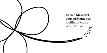 Infographiste Rouen Pascal Ridel carte de voeux design Marcorel