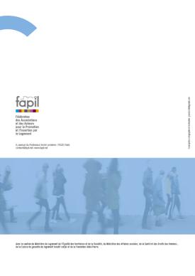Infographiste Rouen Pascal Ridel Brochure la Fapil
