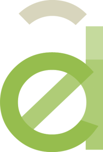 Infographiste Rouen Pascal Ridel Création logo Adel lettre vert la Fapil