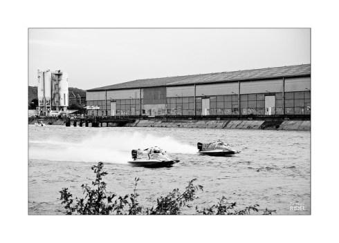 Infographiste Rouen Pascal Ridel Les 24 heures motonautiques de Rouen 2017 - quai rive gauche