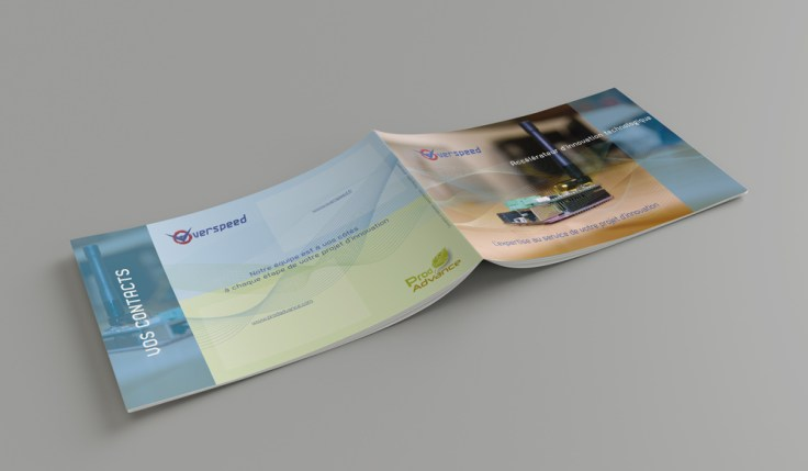 Pascal Ridel Infographiste Rouen couvertures plaquette Overspeed