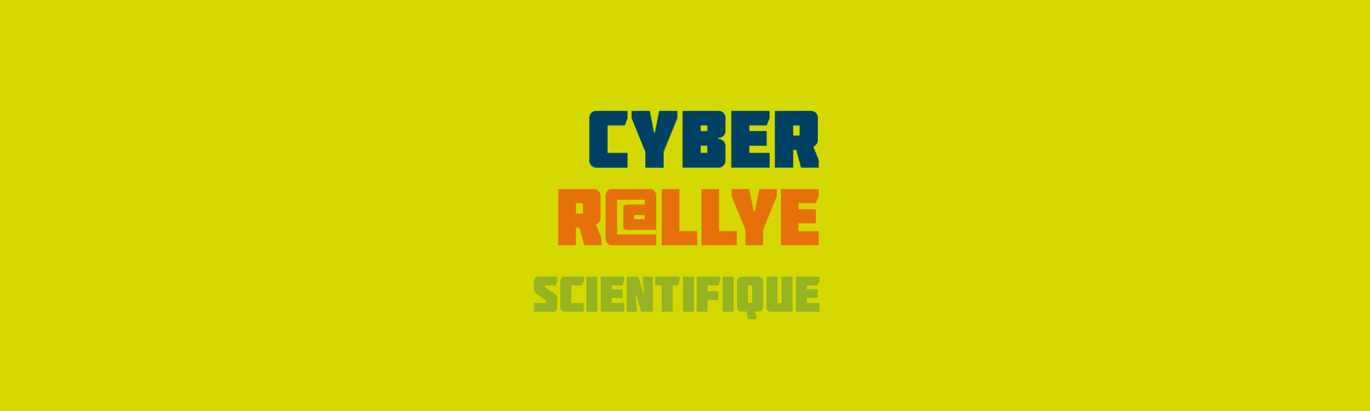 Banniere - Communication visuelle - Cyber Rallye 2018