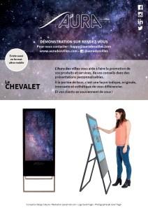 Infographiste Rouen Pascal Ridel - Encart publicitaire - Flyer