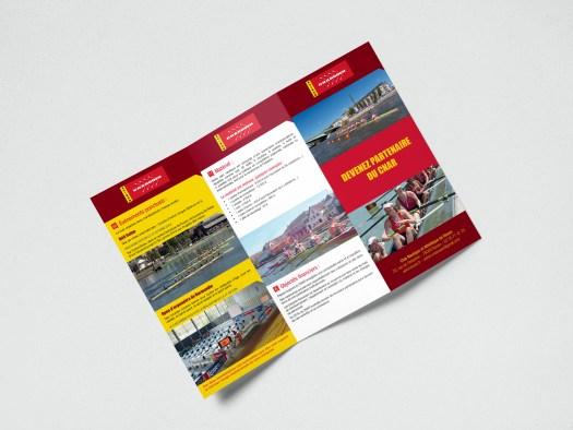 Infographiste Rouen Pascal Ridel - plaquette 3 volets recto