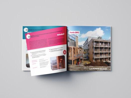 brochure carrée - pascal ridel - infographiste - rouen - brochure