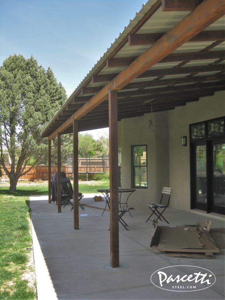 Residential Patio Cover Pascetti Steel Design Inc