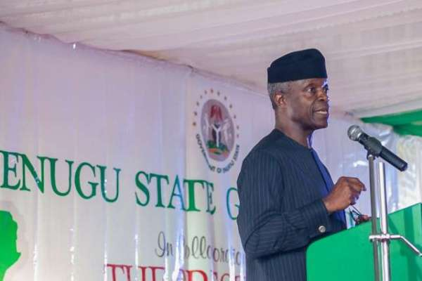 Osinbajo announces 5,000 Nigeria Business Registration Promo in Enugu