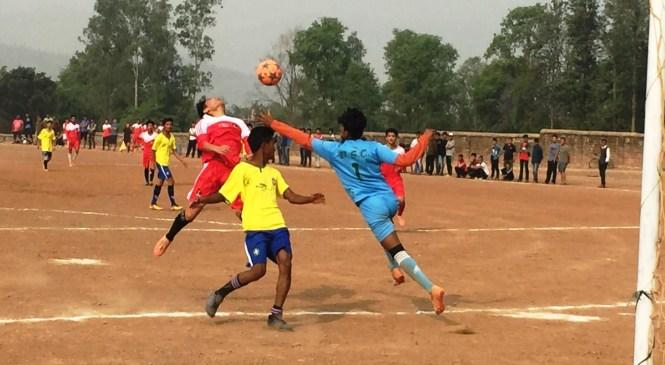 एन्फा फुटवल प्रतियोगिता : सिर्जनशील विजयी