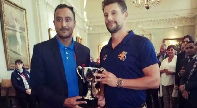 त्रिकोणात्मक सिरिजमा नेपाल र नेदरल्याण्ड संयुक्त विजेता